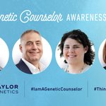 Today we highlight our team of GCs that continue to #ThinkBG & make discoveries that help families better understand how their genetics affect their health https://t.co/epiwoTJpfq #IAmAGeneticCounselor