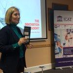 Ruth Kearney introducing us to The Innovation Academy - amazing Programme for postgraduates @innovationzone #ICATretreat2017