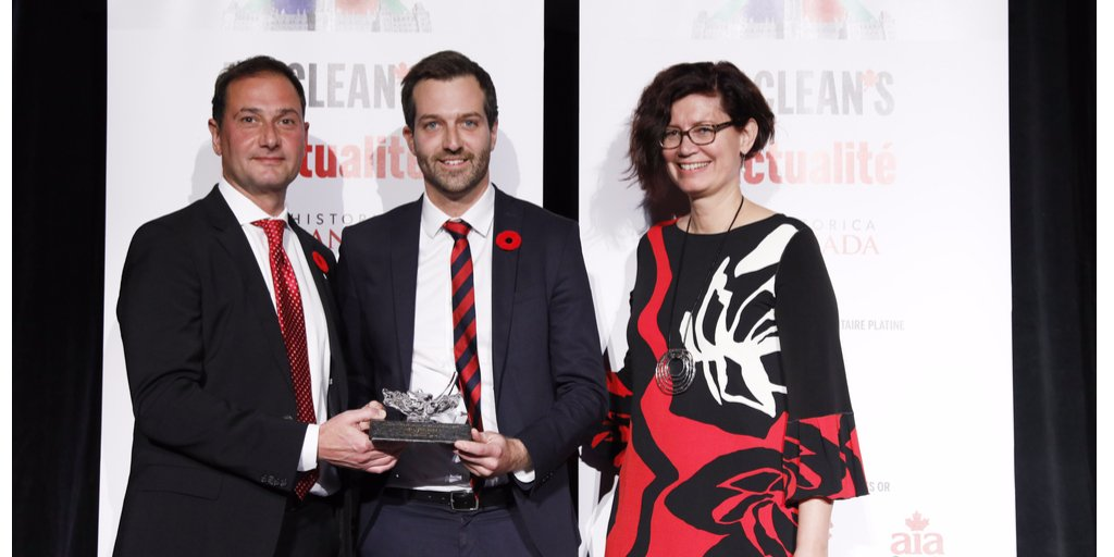 test Twitter Media - Proud to sponsor the Rising Star award at the 2017 @macleans Parliamentarian of the Year event. Congrats to winner @JoelLightbound https://t.co/CTip4mhu7W