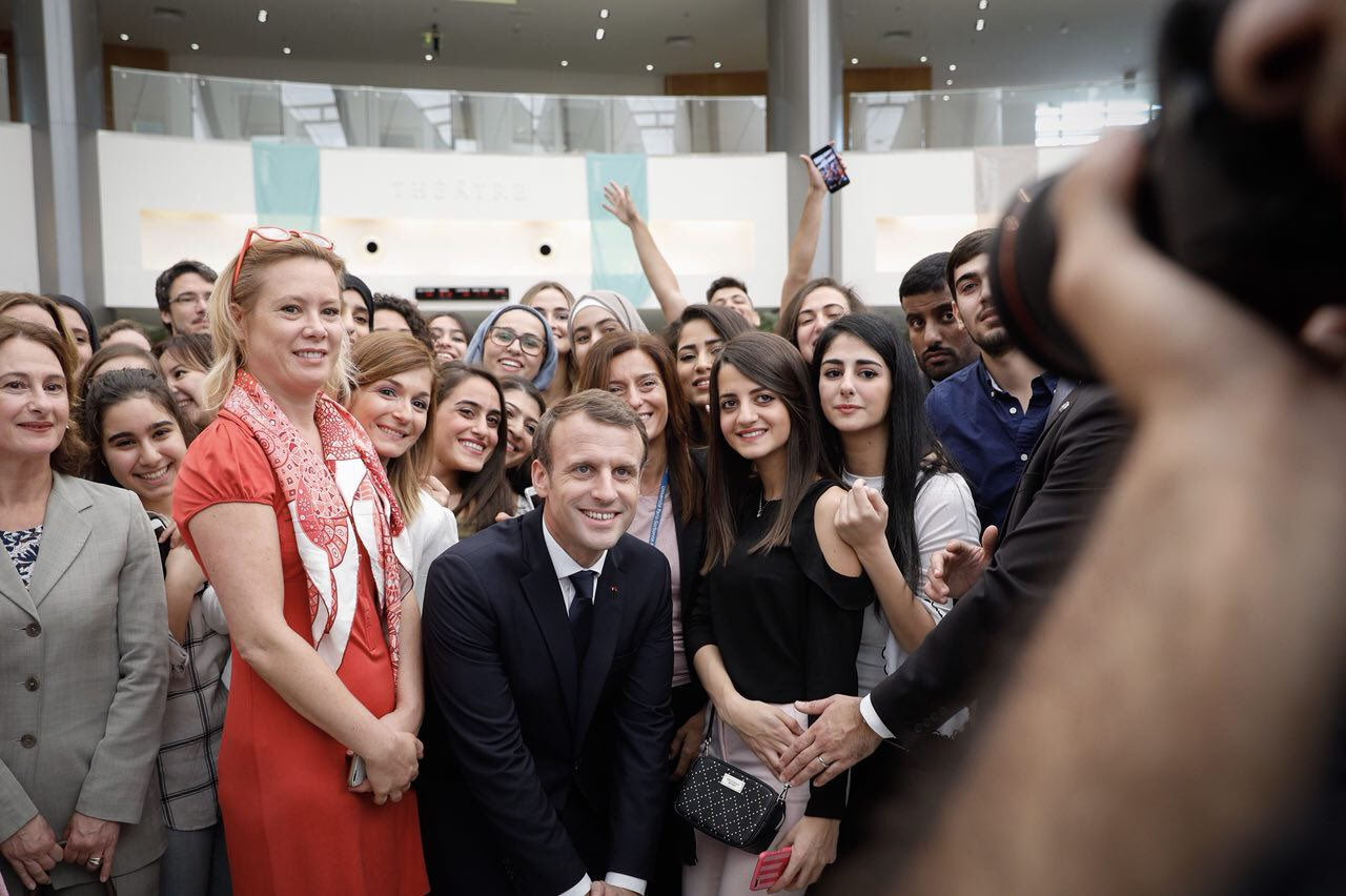 À la Sorbonne Abu Dhabi se joue en partie l'avenir de notre jeunesse, en voici les visages ! https://t.co/vj4EBQDZke