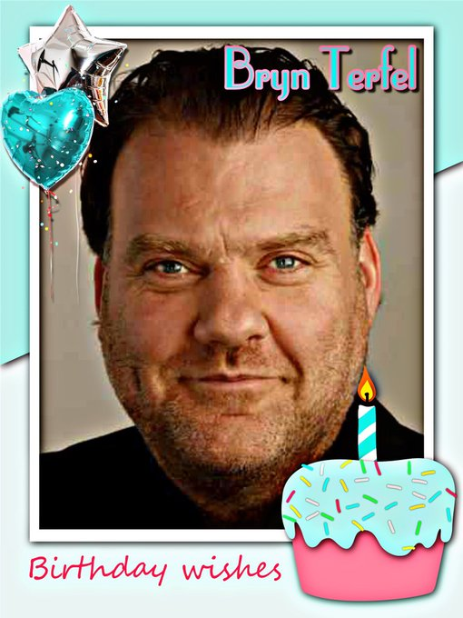 Happy Birthday Bryn Terfel, Phil May, Roger McGough, Chloe Gill, Daphine Guinness & Danny Wisker