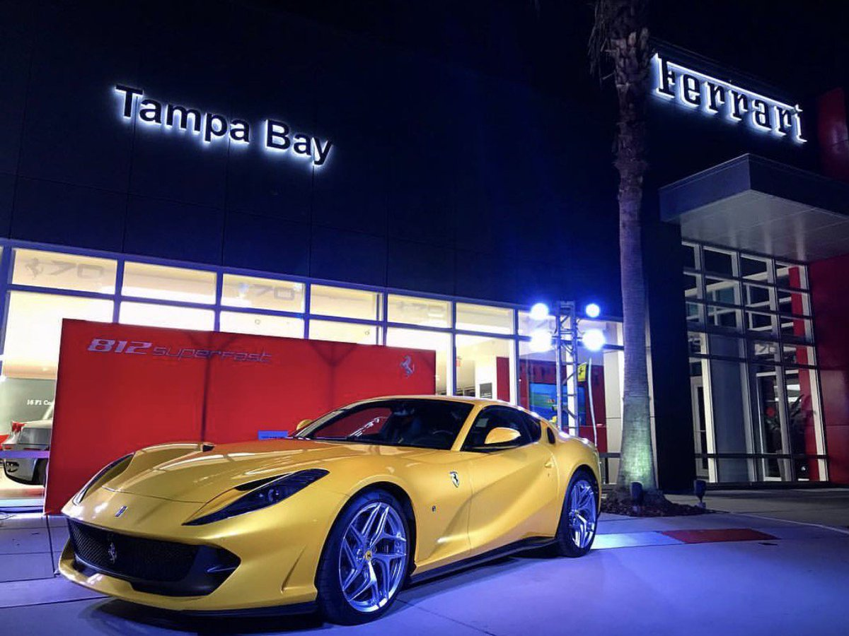 Ferrari Of Tampa Bay On Twitter 812 Superfast Is Here We