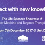 We are hosting a targeted therapy showcase with @BrisSynBio on Dec 7. There are a few places still available:  https://t.co/BLfIqqg1tl