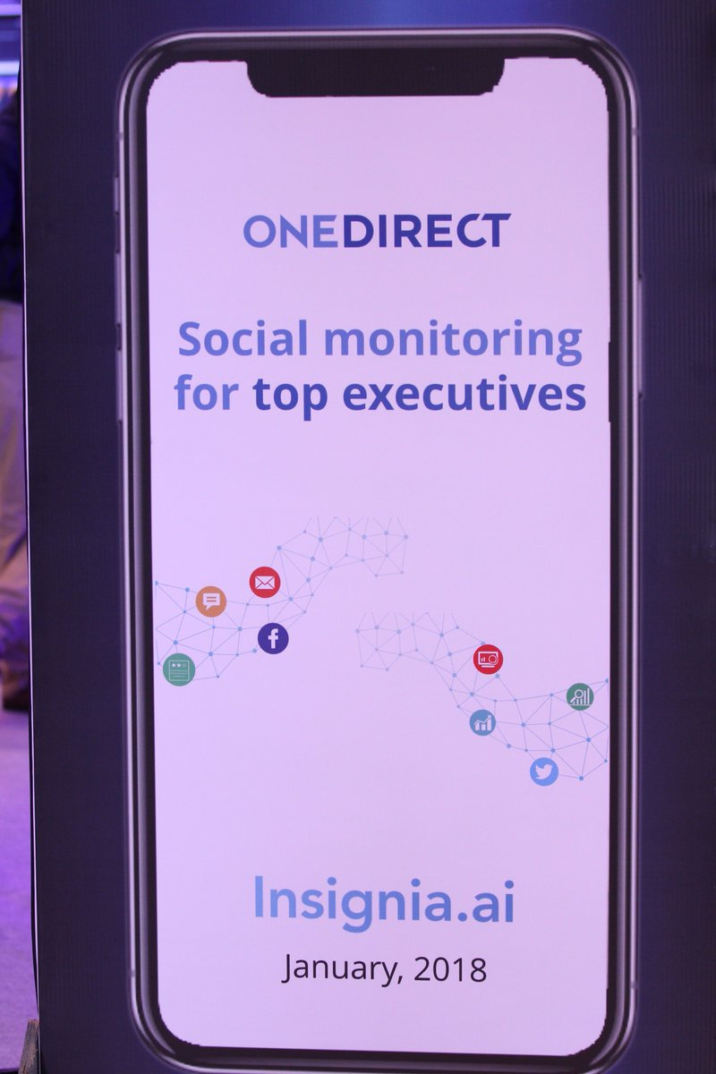 @Onedirectcx is proud to launch Insignia which is an AI-powered smart influencer and user tracking system assisting the brand owners/CXOs to keep a tab on engagement opportunities, build advocates and keep an eye on content going viral on social. #Quest2017 #CXInnovation #CXMeet https://t.co/MQ0Jp0fCbo