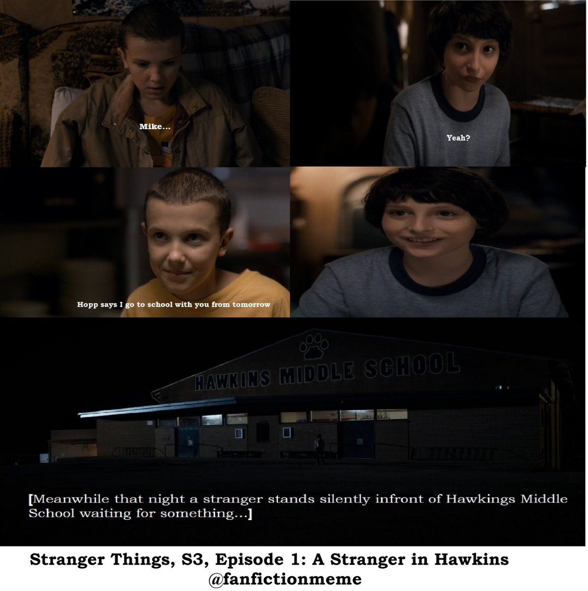 By B Hints || Stranger Things Mileven Season 3