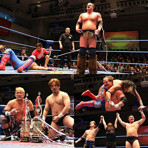 """AJPW: Resultados """"Jr. Tag Battle of Glory - Gran Final"""" Takeda y Maruyama ganadores; Yoshitatsu no logra la Triple Corona 7"""