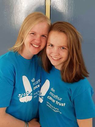 #tbt To when our young person Ellie and her mum, Chopped half their hair off in aid of the Trust #fabfundraisers
