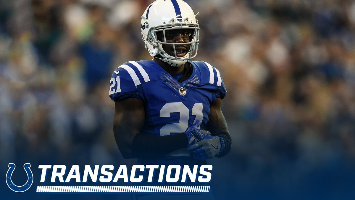"Indianapolis Colts on Twitter ""We have released CB Vontae Davis"