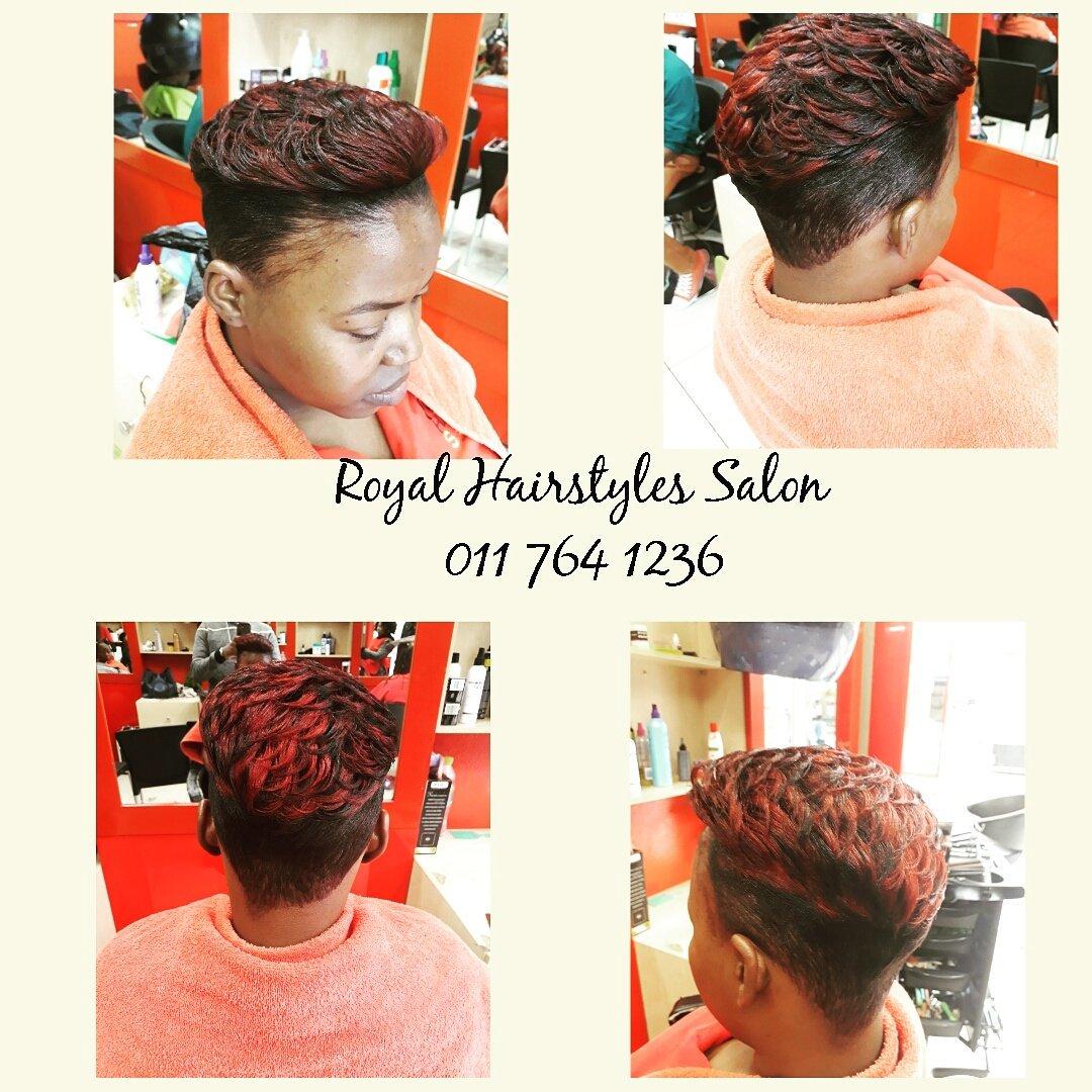 Royal Hair Salon On Twitter Bobcut Relaxer Cut Style Plus High