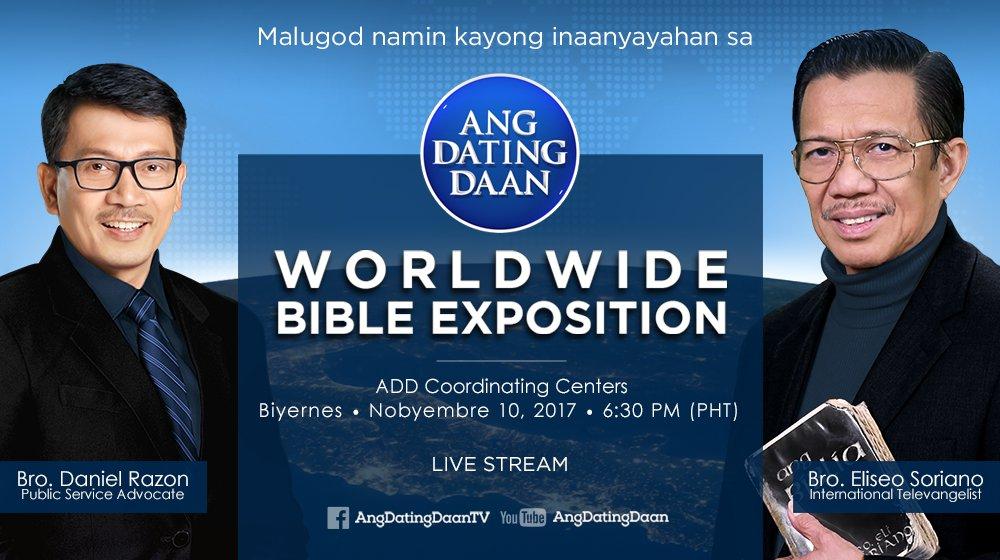 Ang Dating Daan Live Bible Exposition December 8 2018