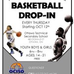 Join us for #YOCISO Basketball, this afternoon, 6:00 pm - 8:00 pm, Ottawa Technical Secondary School    https://t.co/pPc0OWDnD5