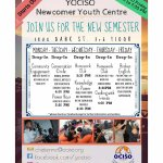 Join us at the #YOCISO Newcomer Youth Centre today for homework club, and cooking with friends! https://t.co/sHgXEuOCsB
