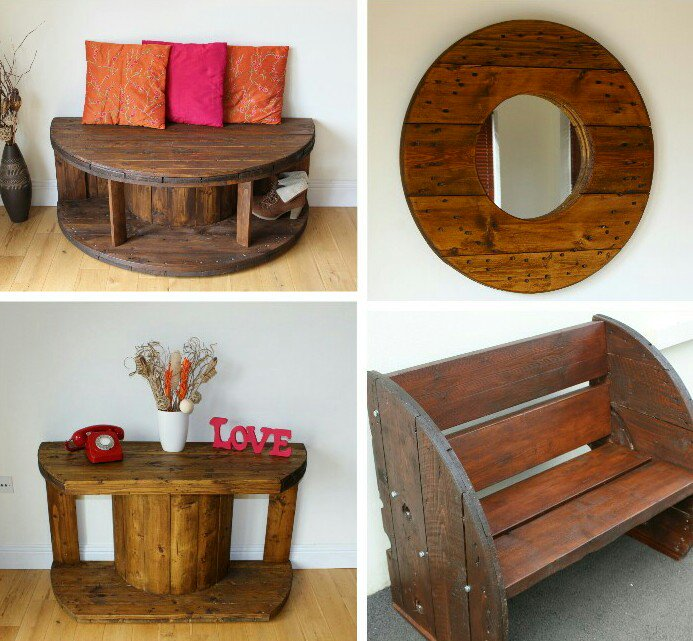 Just some of our &quot;reel&quot; favourite upcycled creations. #upcycled #repurposed #reuse #reduce #recycle<br>http://pic.twitter.com/bryYBdrZSa