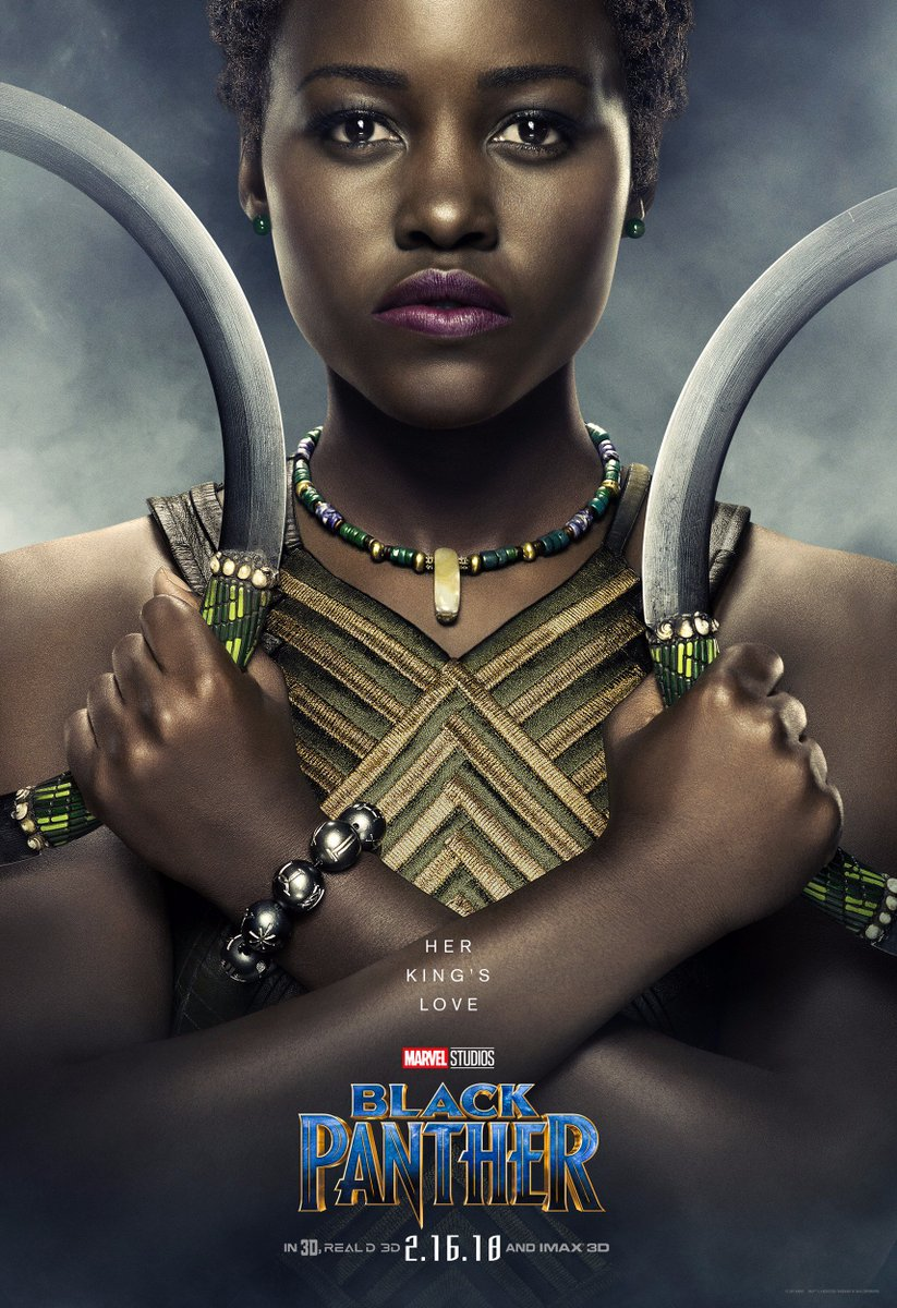 Nakia is coming! #BlackPanther 2.16.18 @MarvelStudios