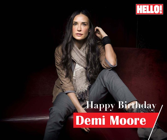 HELLO! wishes Demi Moore a very Happy Birthday
