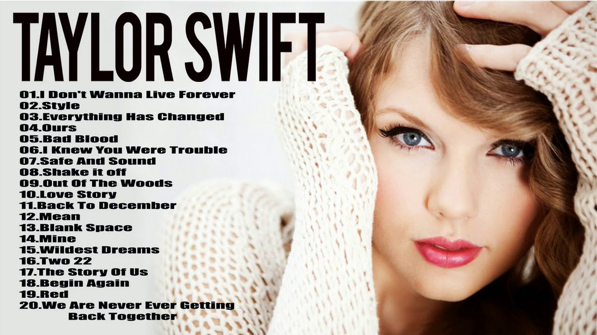 Taylor Swift  Tour Song Setlist