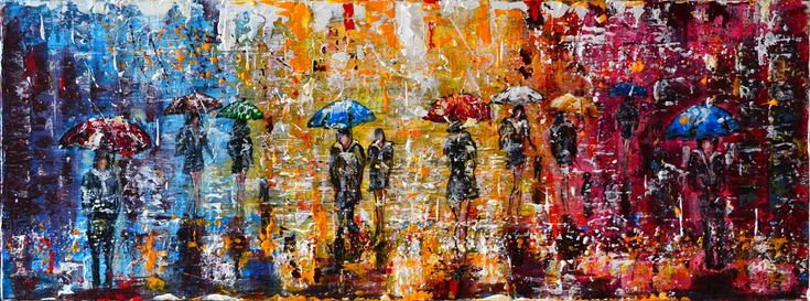 RT @MistyLady4: Umbrellas City- Long Deep Edge Canvas... by @MistyLady4 via @artfinder #acrylic #painting #art https://t.co/iB3d2bf2Bs http…