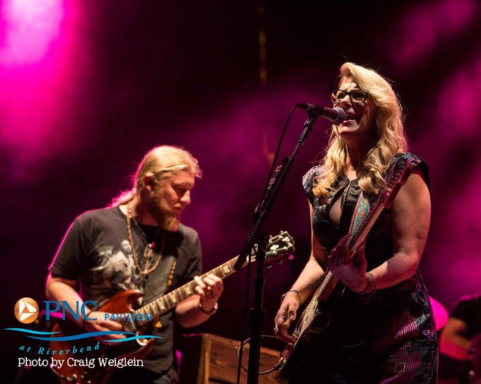 Happy birthday, Susan Tedeschi! Here\s a to at PNC Pavilion in 2016.