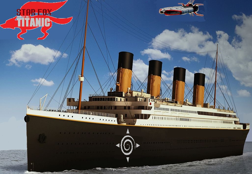 #starfox edit of #Titanic (note originated from Clive Palmer&#39;s #Titanic2 promo poster) edited with #mspaint #nintendo<br>http://pic.twitter.com/WZ7CKjzLh2