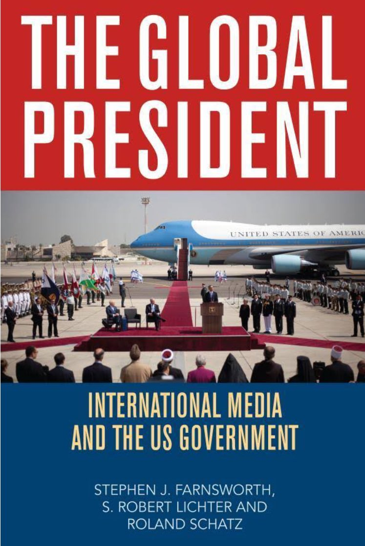 S. Robert Lichter est l&#39;auteur de The Global President: International Media and the US Government  https://www. amazon.com/Global-Preside nt-International-Media-Government/dp/0742560430 &nbsp; …  Colloque #Trump1an #EtatsUnis <br>http://pic.twitter.com/qduP1DKM1H