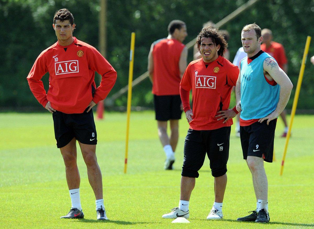 Ronaldo - Tevez - Rooney 🔥  #UCL #ThrowbackThursday 🕰️🔄