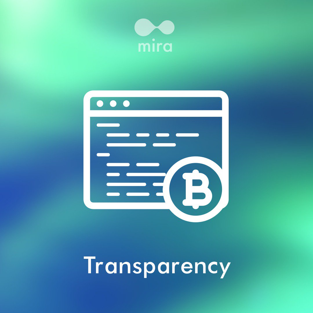 However Accesssing Money Requires A Password Mira Doesnt Store User Passwords And Identities The Only Information Thats Kept On MiraNet Blockchain