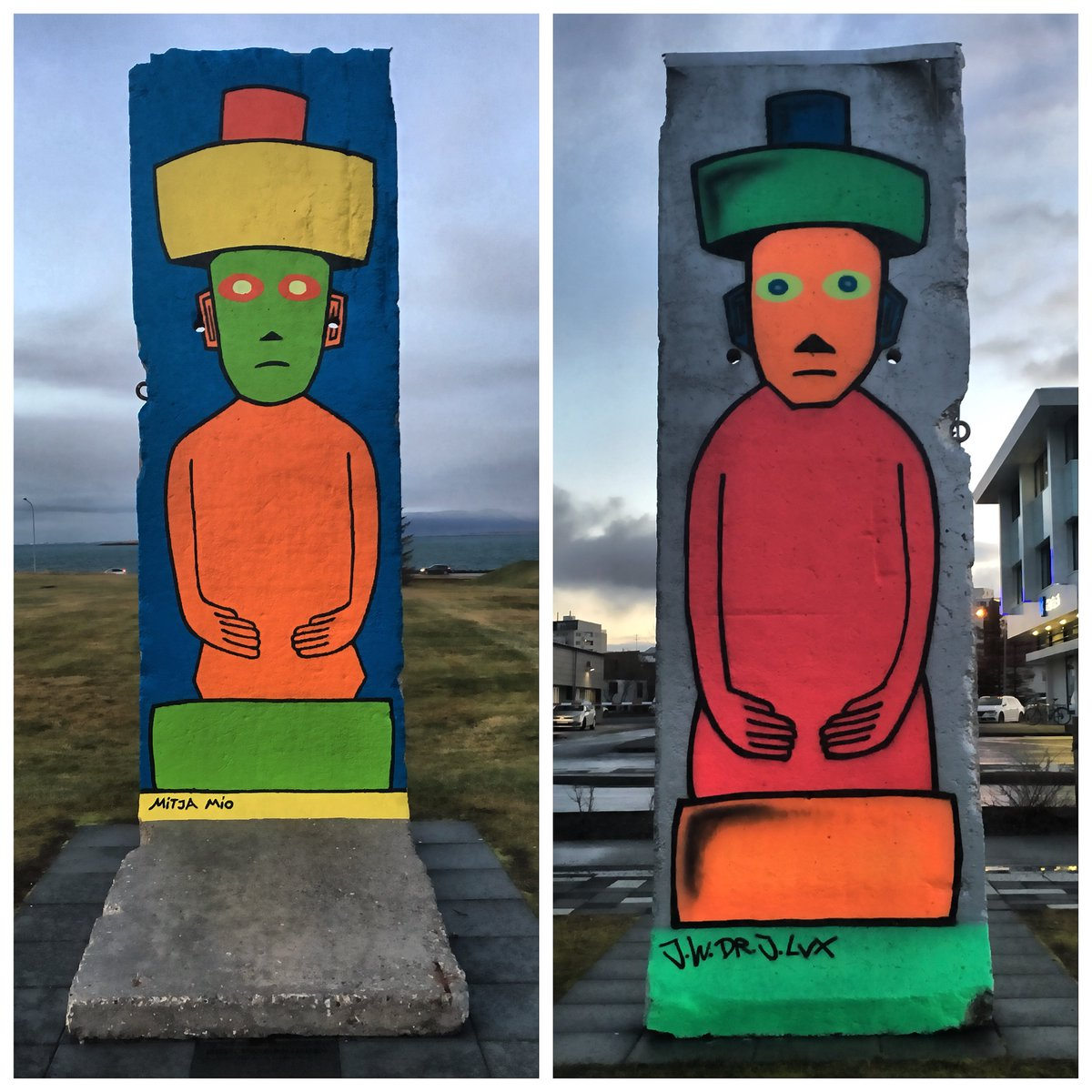 World Freedom Day commemorating the fall of #BerlinWall #Reykjavik #Iceland https://t.co/IJW5dh1HDS