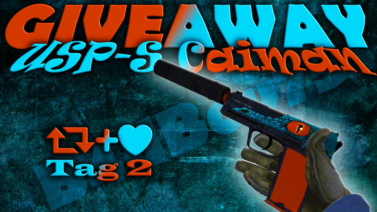b4dboy75 on twitter usp s caiman mw giveaway 2 days to enter 1