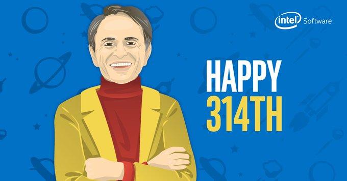 Carl Sagan was born on the 314 day of the year? Happy birthday, Carl!