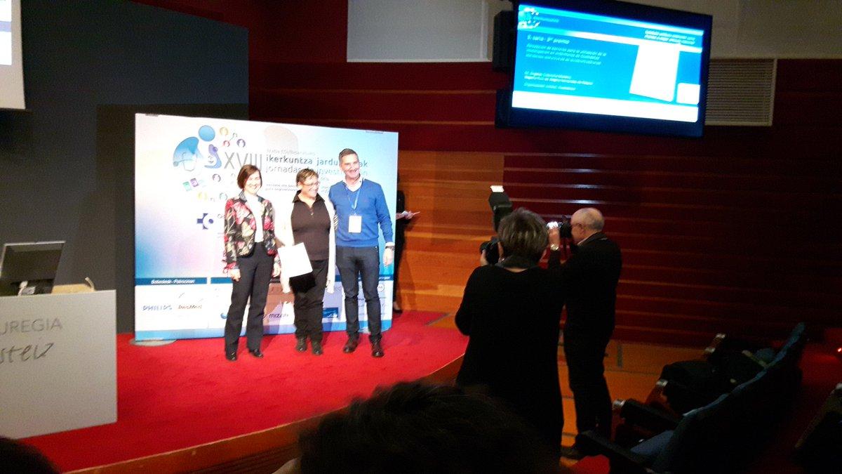 RT @CIE_Osaki: Tercer premio artículo nacional #ikerkuntzaXVIII Enhorabuena!!! https://t.co/UHKMxcNnf8