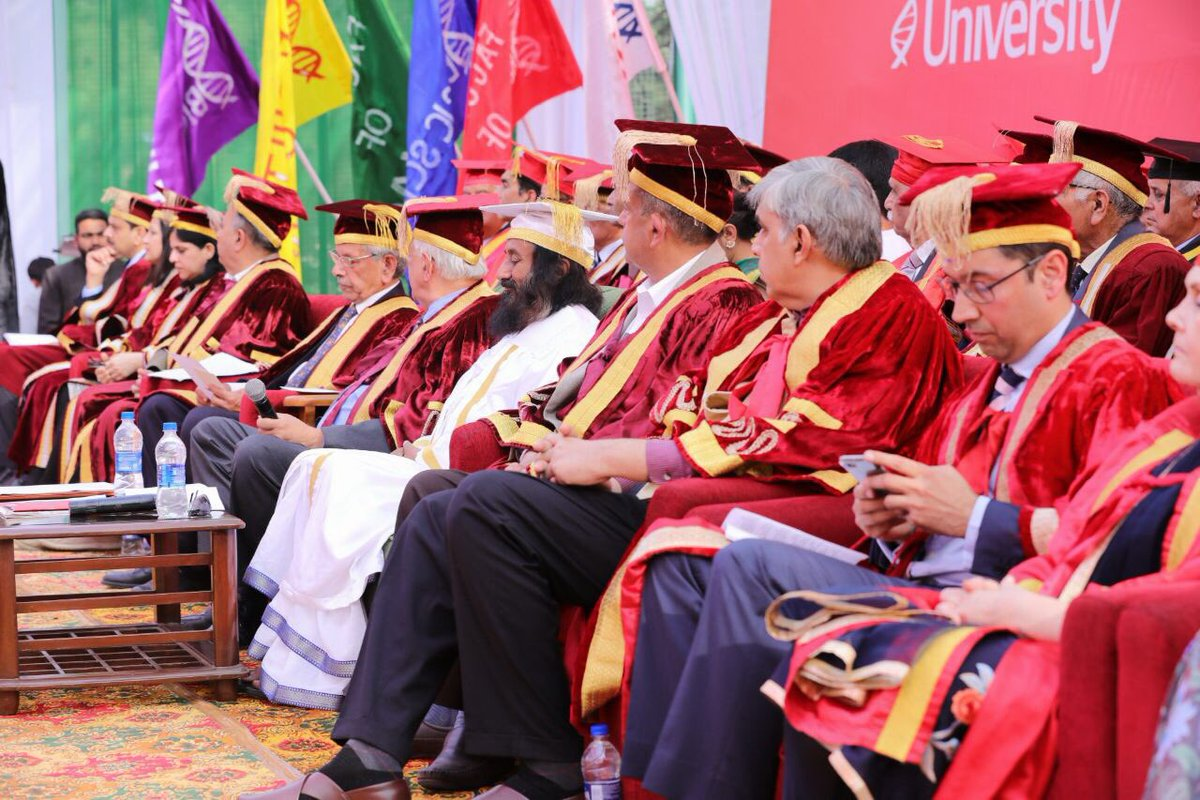 Was the chief guest at the convocation of Shoolini University in Solan, Himachal Pradesh.