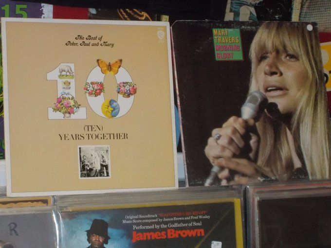 Happy Birthday to the late Mary Travers
