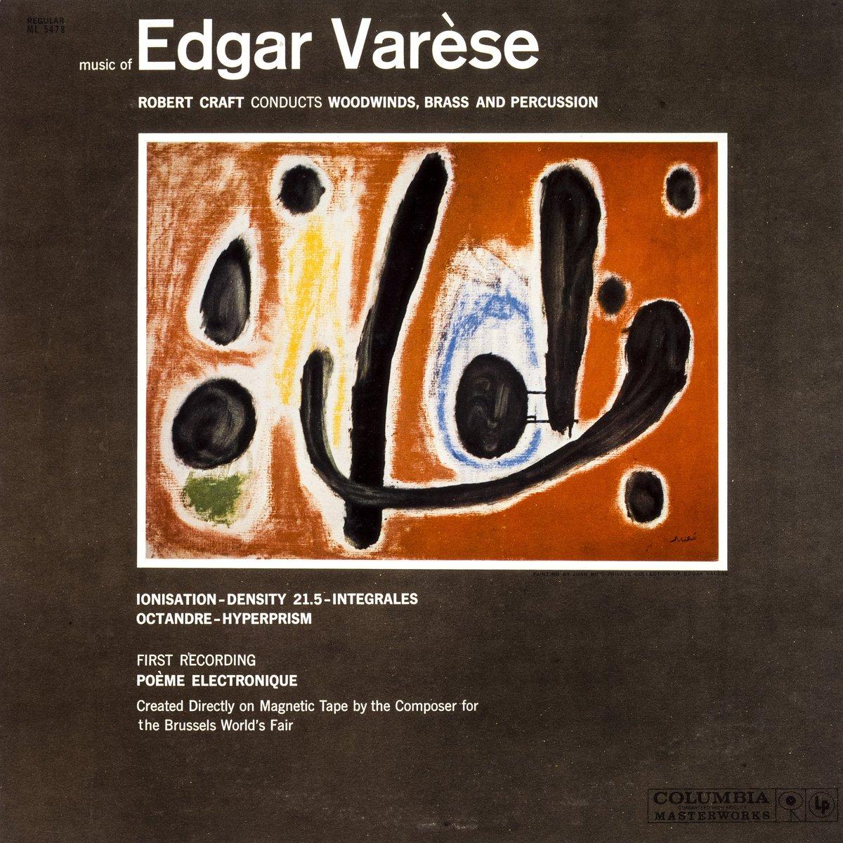 """Joan Punyet Miró: """"Que Joan Miró fes portades de discos per a artistes com Edgar Varèse, ja ens dóna una idea de la importància que donava a la música"""" #MiróMusic #FundacióMiró"""