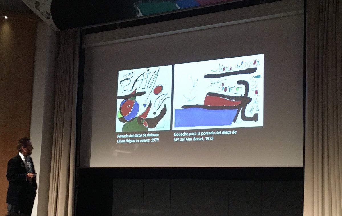 Joan Punyet Miró i #MiróMusic a la @fundaciomiro