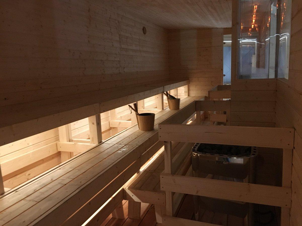 sauna bænk