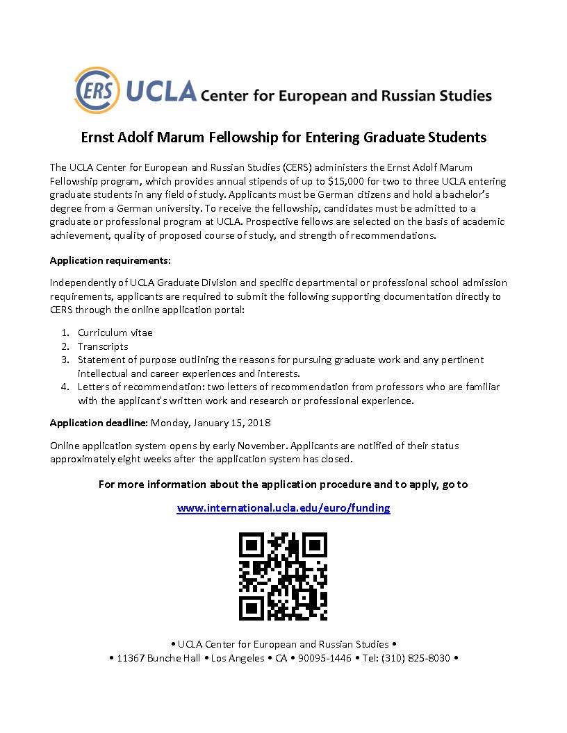 More info and eligibility details at https://ucla.in/2zn60dE Application deadline: January 15, 2018, 11:59 pm (PST)pic.twitter.com/PoYyJ9kXdN