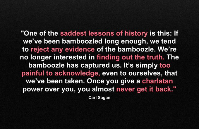 Happy Birthday, Carl Sagan! Now, more than ever, we need to keep fighting for truth, science, and justice!