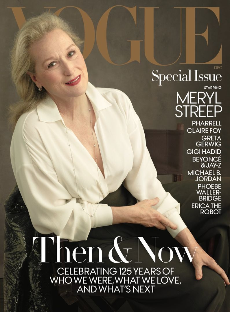 #MerylStreep Covers Vogue's December Issue, Talks With Anna Wintour https://t.co/kGnwXD2jn4