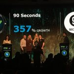3rd year in a row and #17 this year on @DeloitteNZ #NZFast50 for @90secondstv work of legends team!! Such a privilege this journey.