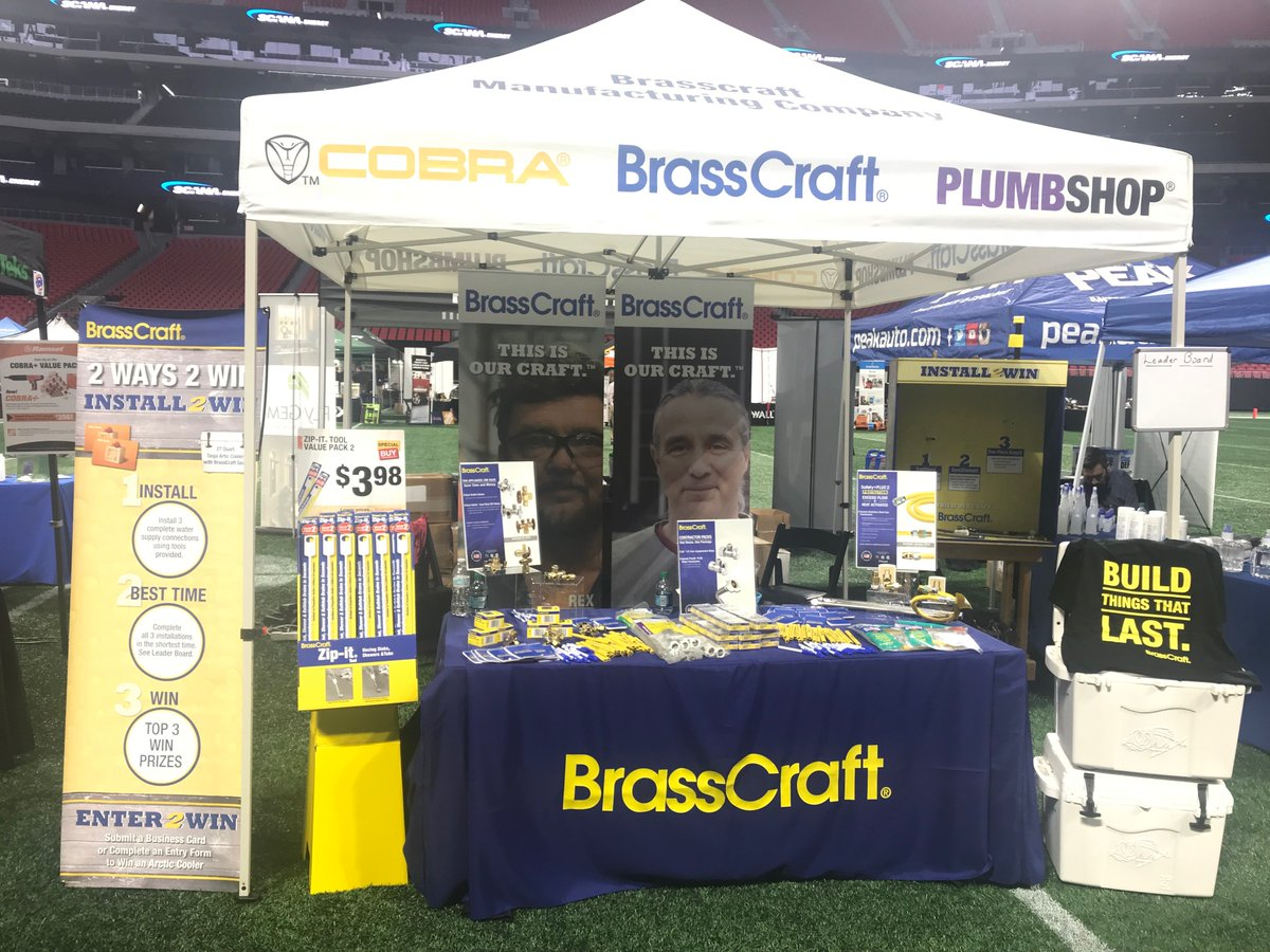 Brasscraft Mfg On Twitter Letsdothis We Re Excited To Be A Part