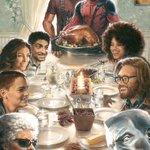 『デッドプール2』のポスターをライアン・レイノルズが公開!デップーと仲間たちが集合して、感謝祭をお祝…