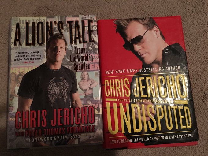 HAPPY BIRTHDAY CHRIS JERICHO~! Thanks for all the great wrestling and great books!