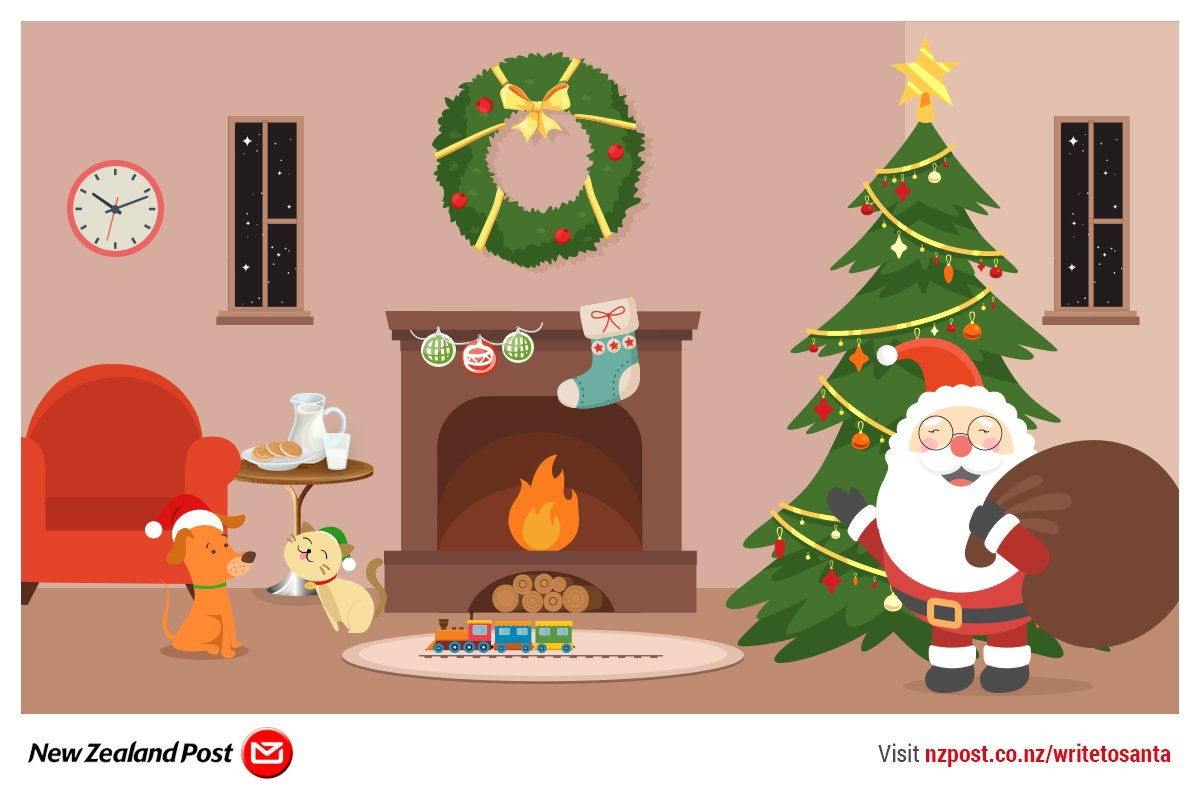Nz post on twitter santas mailbox is open write a letter to 949 pm 9 nov 2017 spiritdancerdesigns Image collections