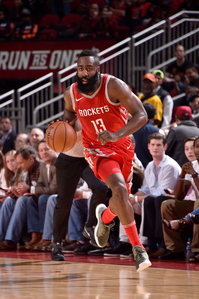 James Harden:  First player in last 30 seasons with 35+ PTS, 10+ AST, 10+ REB & 5+ STL in a game since Michael Jordan (1989).