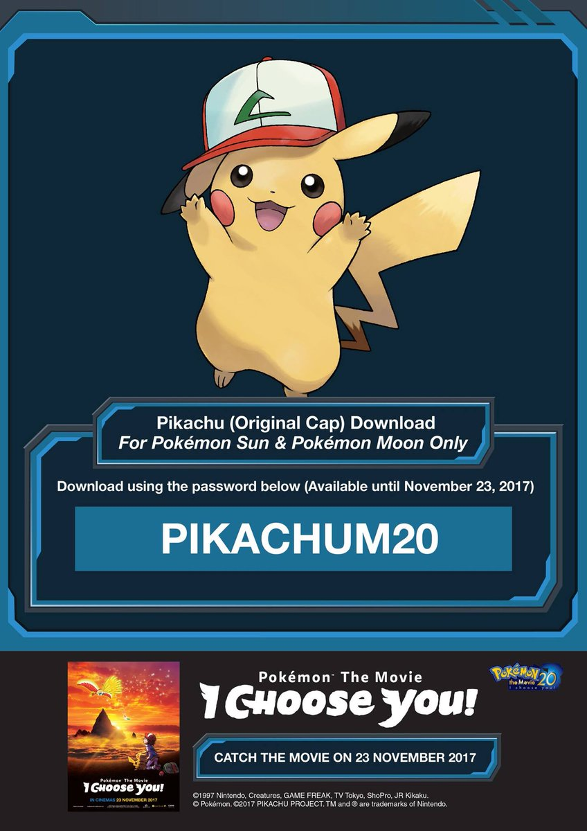 Valterria A Twitter Pikachu With Original Cap Download Code The