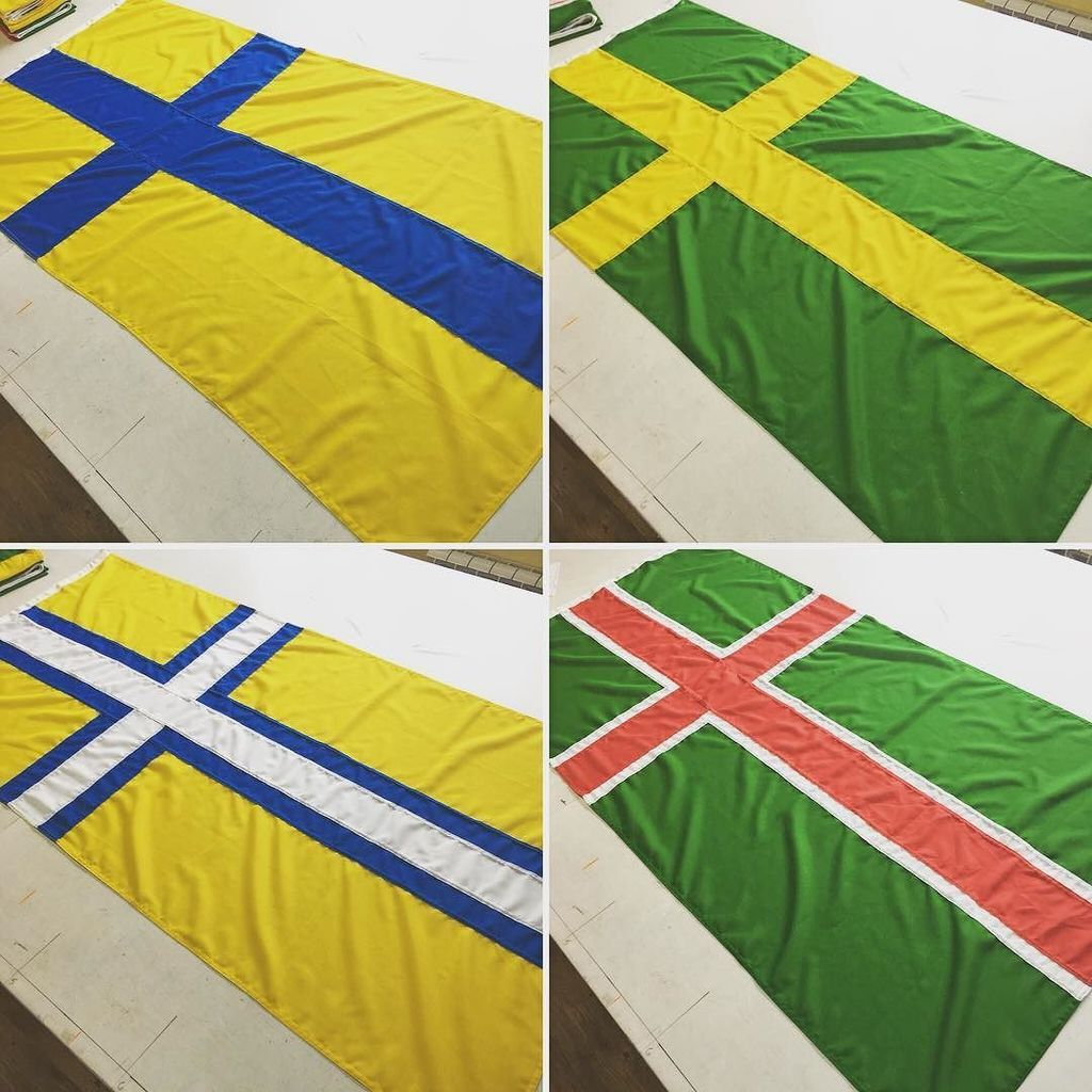 Flying Colours Flags On Twitter 4 Unofficial Swedish Regional Flags Ostergotland Oland Vastergotland Smaland Nordic Sweden Flag Flags Scandinavian Flagmaker F Https T Co 6a2nu81bpf