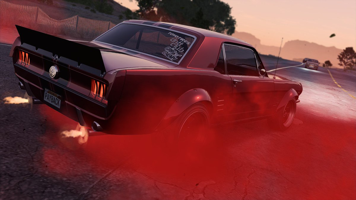 To turn his dads cherry red 65 mustang into the best drift build in fortune valley i tried my best the grant his wish