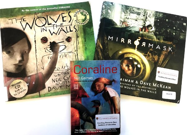 Happy birthday to author Neil Gaiman!  You\ll find these great titles and more in our Fiction Collection!