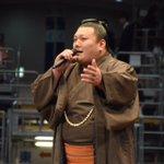 <大相撲九州場所前夜祭>力士どの自慢、勢。#sumo pic.twitter.com/j…
