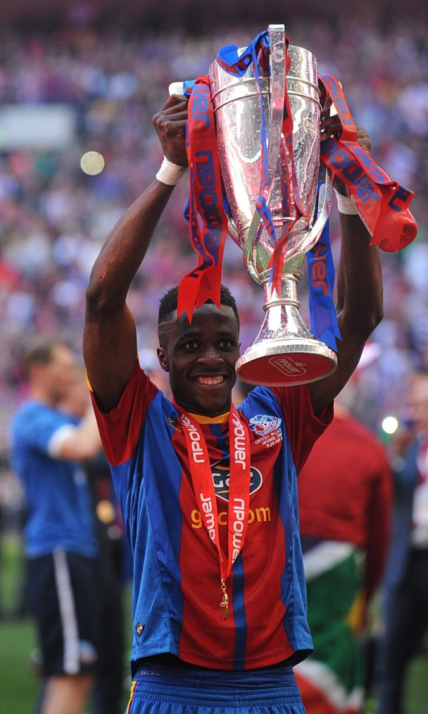 Happy 25th birthday to Wilfried Zaha.  I\ve never loved a Crystal Palace player more than I love this lad.